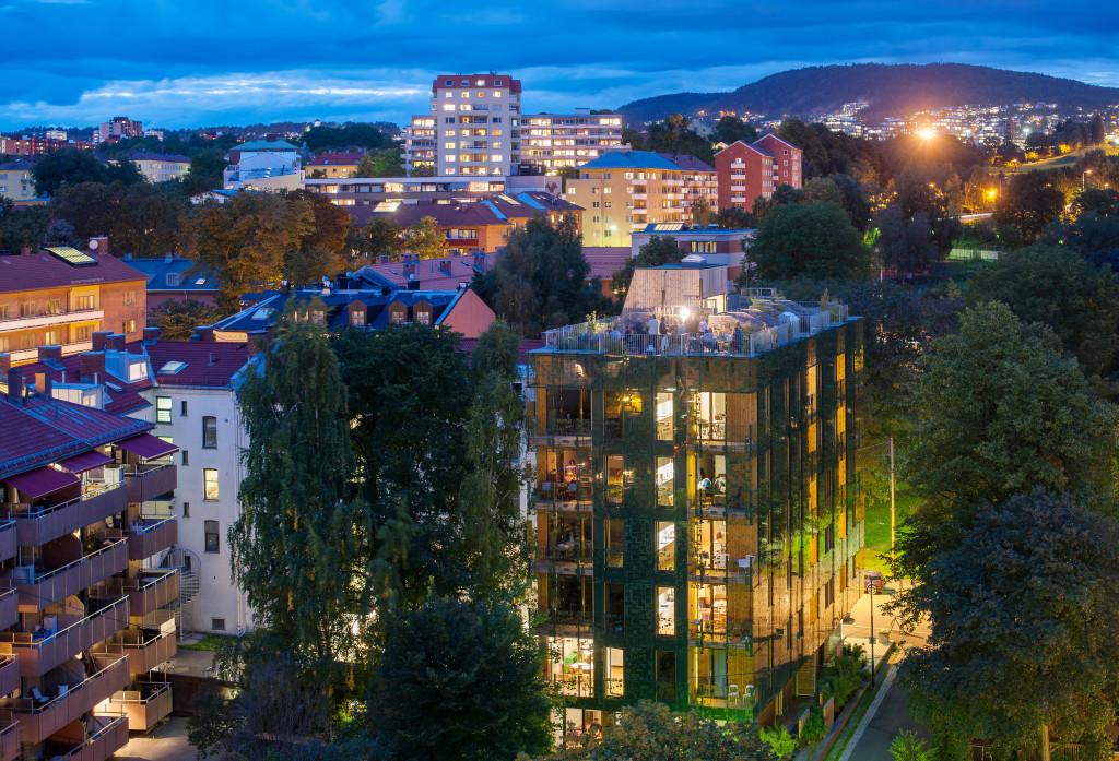 21 moderne leiligheter på Dælenga