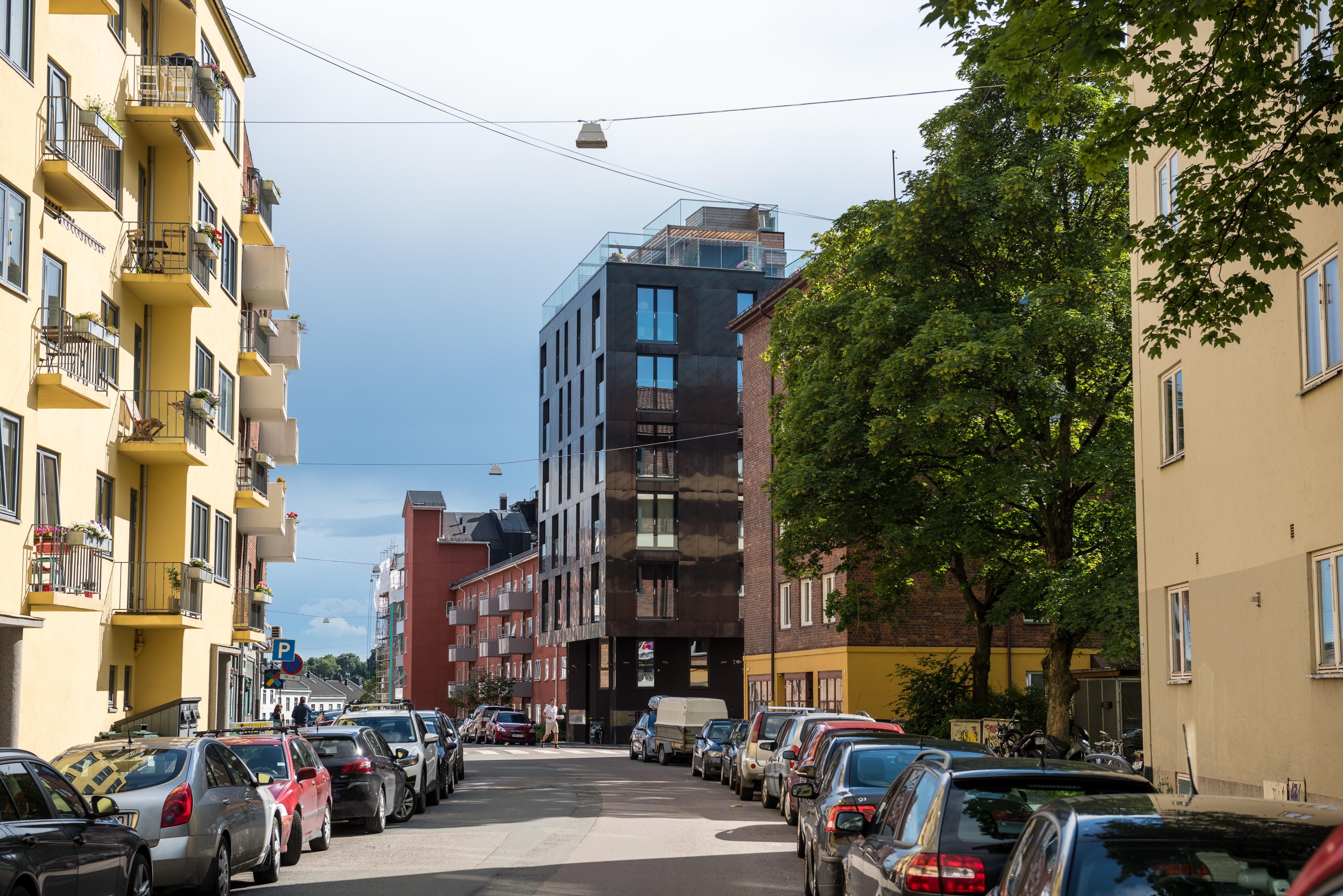 12 sykkelnære leiligheter